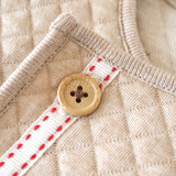 Hoppetta+ quilted organic cotton jacket