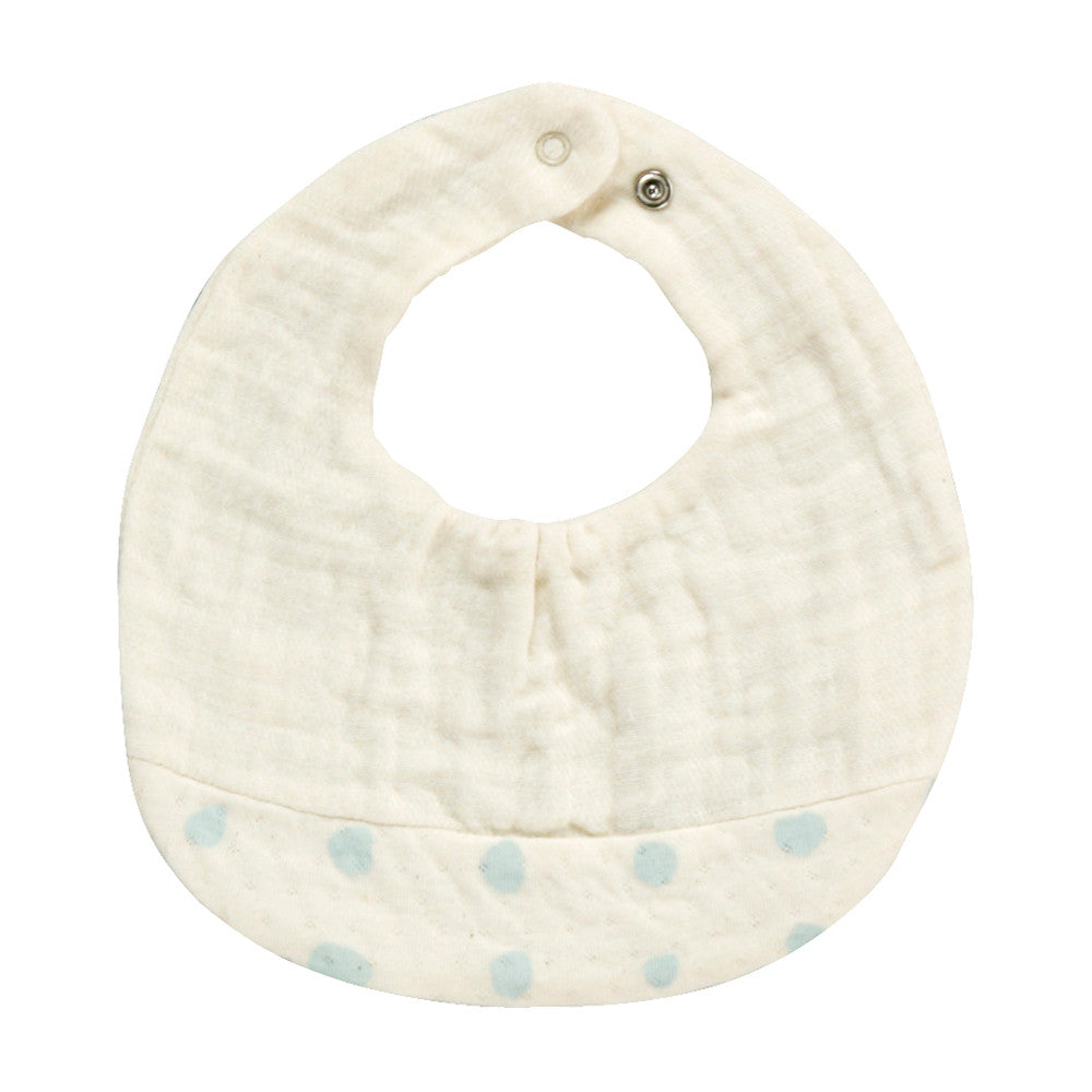 Naomi Ito POCHO bib in organic cotton