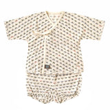 "BOBO ""Jinbei"" set in organic cotton"