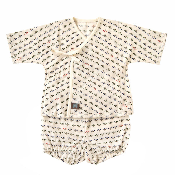 "BOBO BIO ""Jinbei"" set in organic cotton"