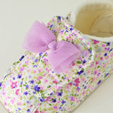 Pompkins floral shoes