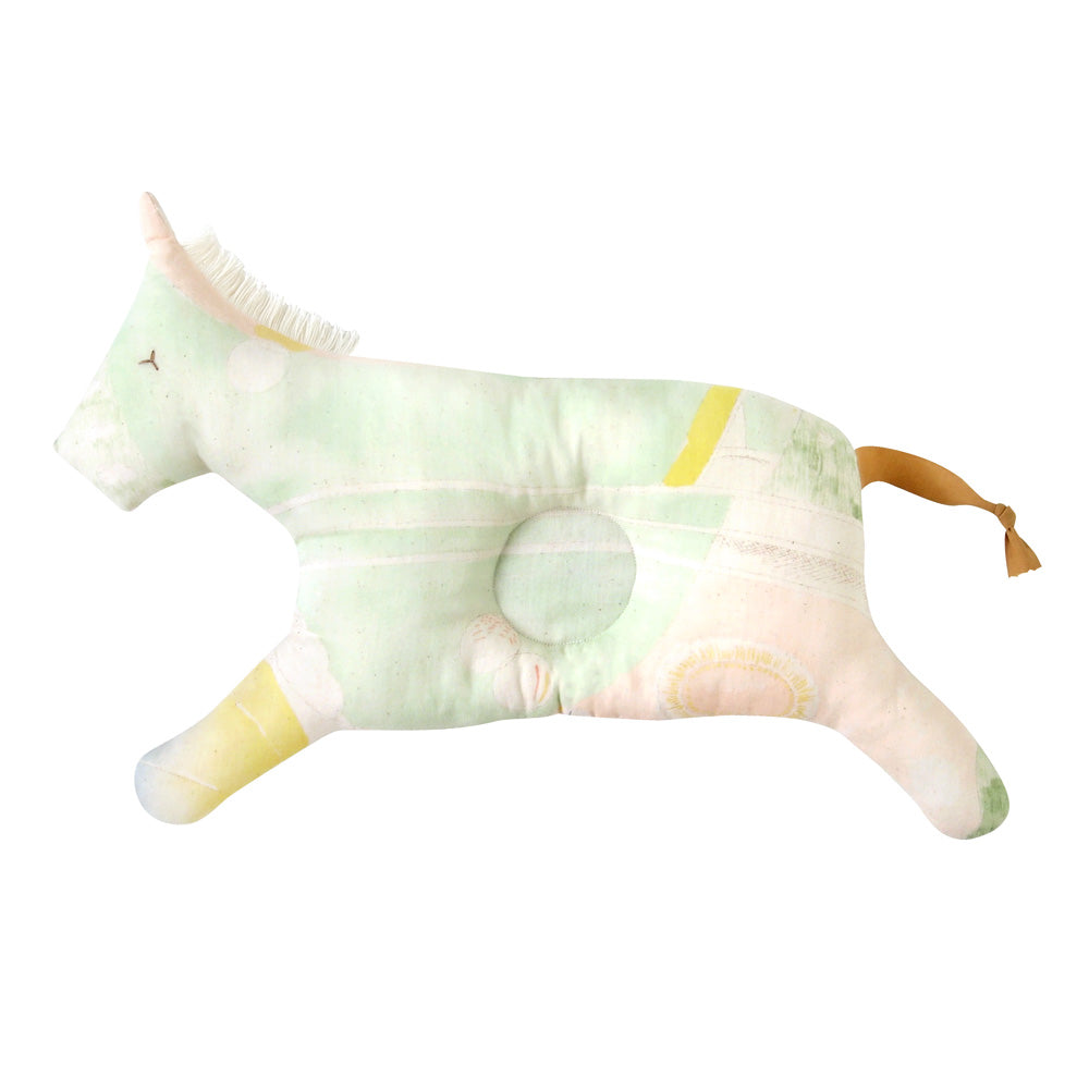 Naomi Ito Beautiful Life horse pillow