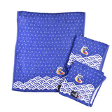 Imabari THE GREAT WAVE towels