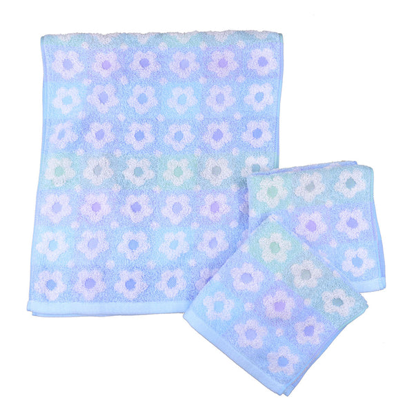 Imabari flower towel 2pc set