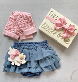Platinum*Baby bloomers/Knock Knock Little One box gift set