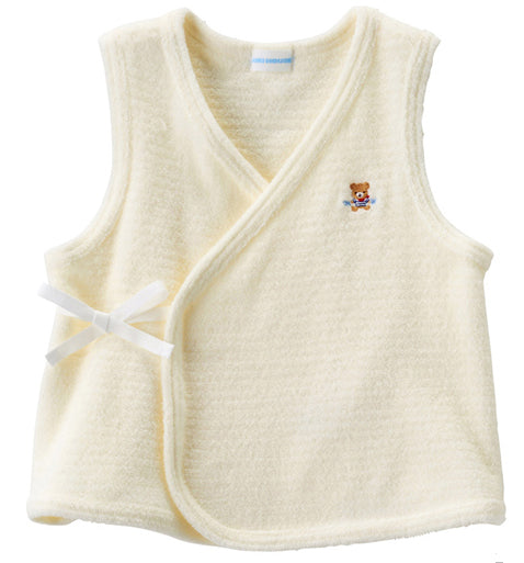 Mikihouse pile vest