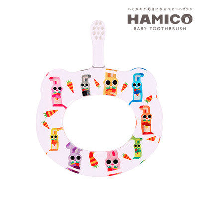 Hamico baby tooth brush ANIMAL