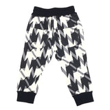 Hat Mustache Ribbon Geometric pants