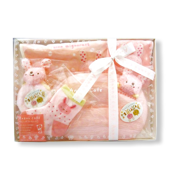 Anano Cafe Rabbit 5pc gift set