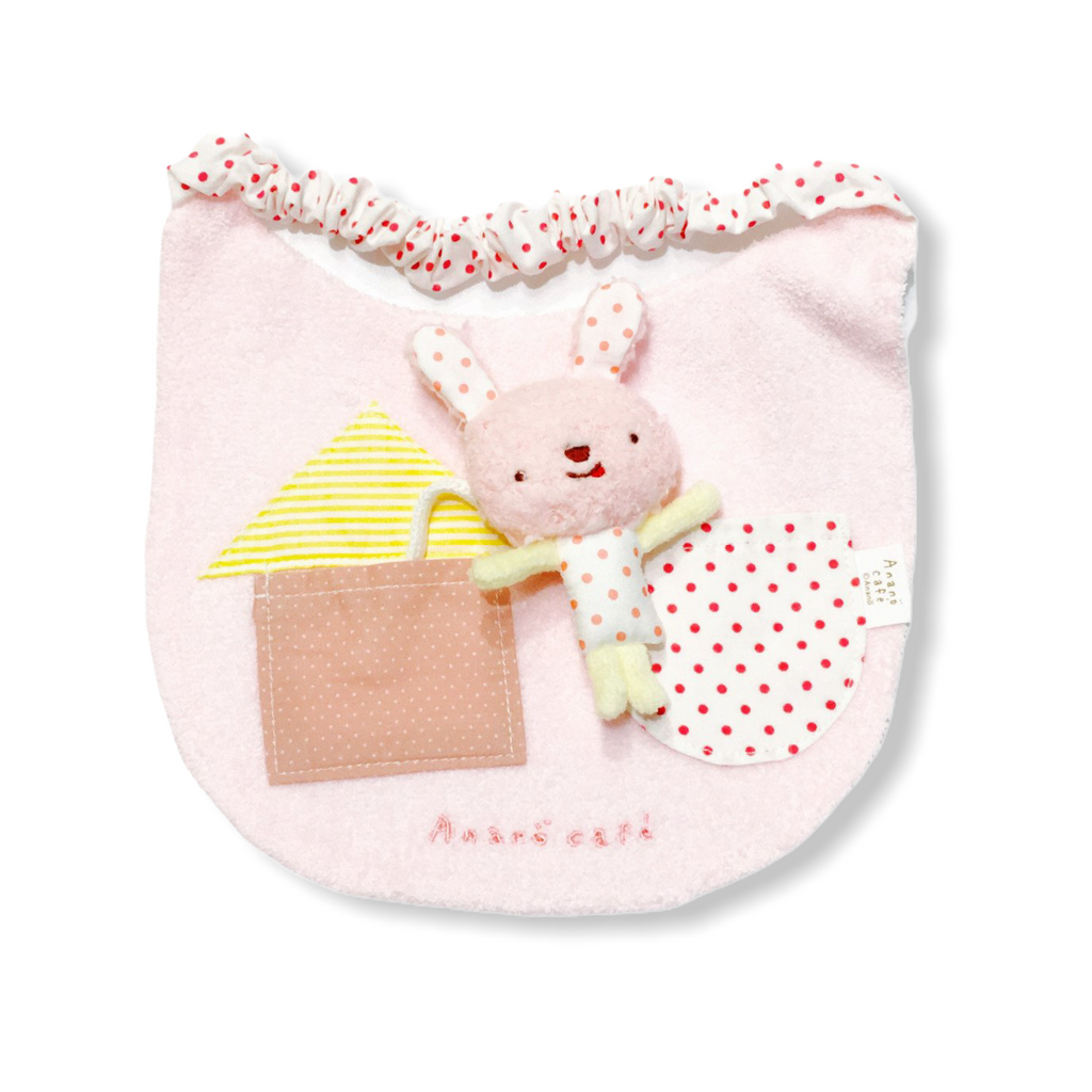 Anano Cafe Pocket Rabbit bibs