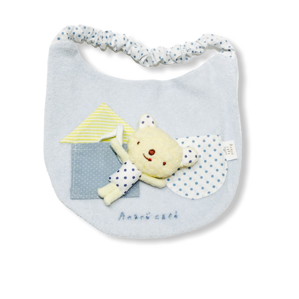 Anano Cafe Pocket Bear bibs