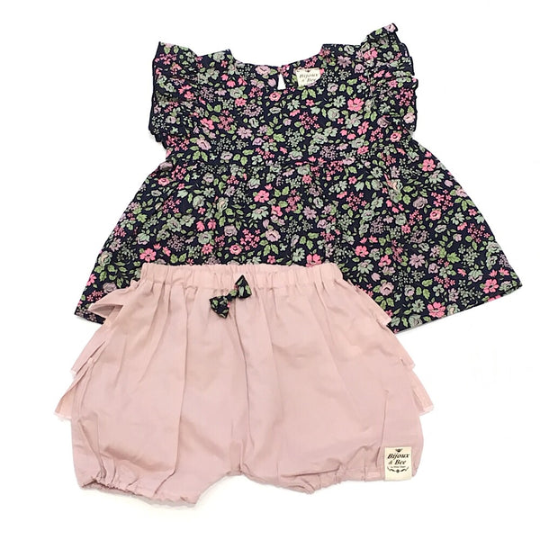 Bijoux&Bee blouse+bloomers set