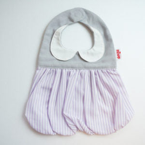 Niva bibs - purple strips
