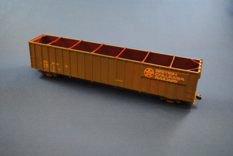 HK-04 - BCRAIL/PGE 60' Wood Chip Car Kit