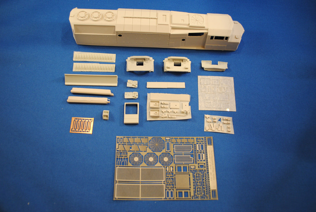 HL-02 - CPR SD40-2F Locomotive Shell Kit