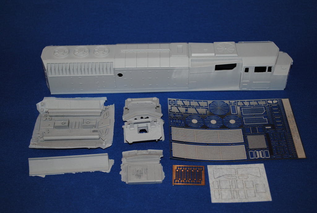 HL-06 - CN SD-50F (5400 – 5459, 9900-9903) Locomotive Shell Kit