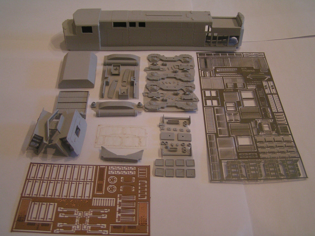 HL-08 - BCRAIL M-420 Locomotive Shell Kit