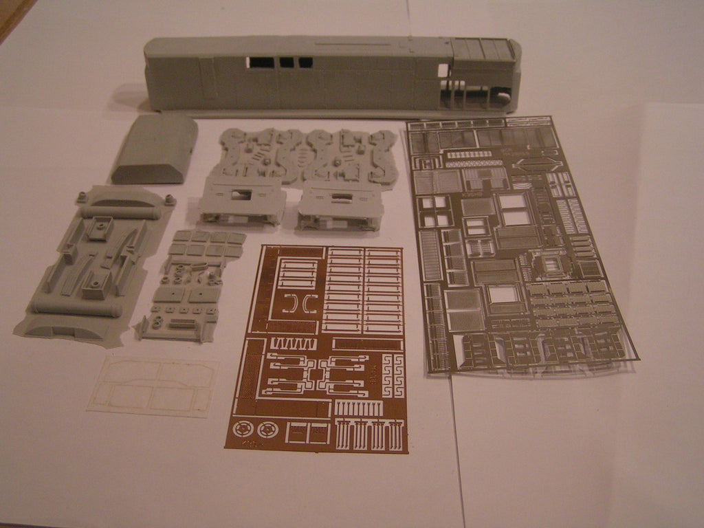 HL-09 - BCRAIL M-420B Locomotive Shell Kit