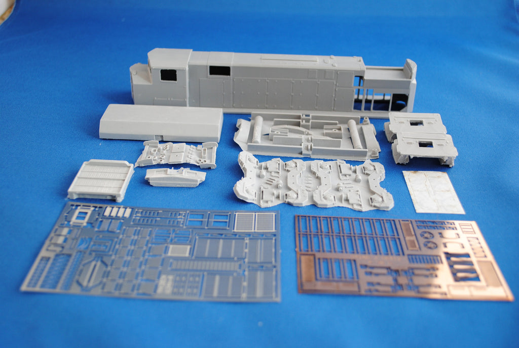 HL-10 - CN M-420W As Built Locomotive Shell Kit