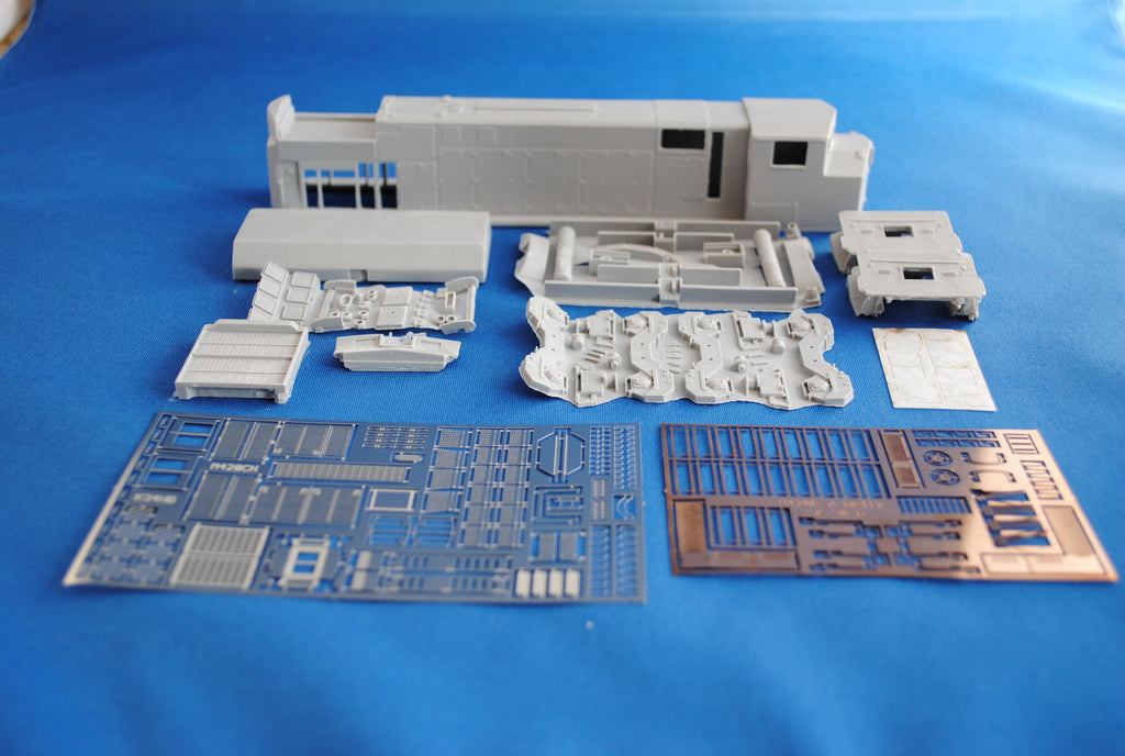 HL-11 - CN M-420W Rebuilt Locomotive Shell Kit