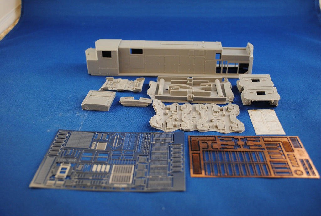 HL-12 - P&W M-420R Locomotive Shell Kit
