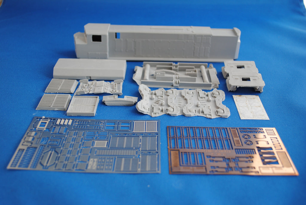 HL-13 - CN HR-412 Locomotive Shell Kit
