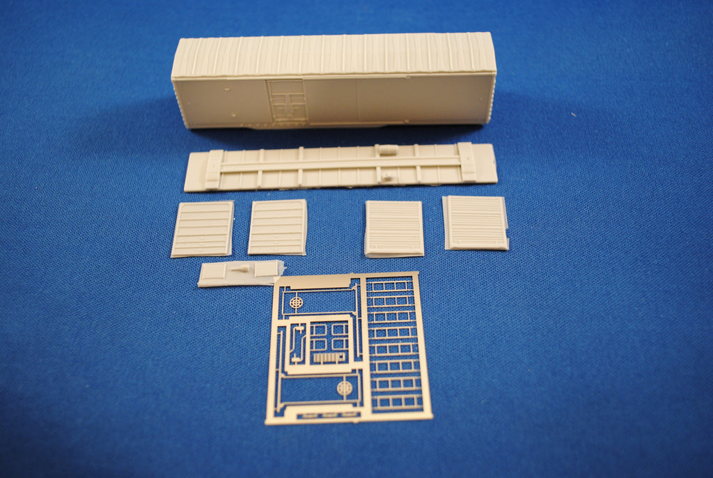 NK-15 - BCRAIL 50' Combination Plug Door Boxcar Kit