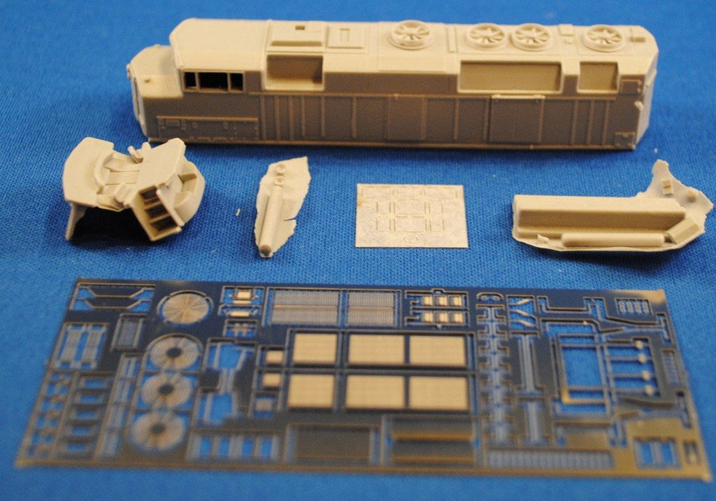NL-17 - EMD GO Transit F59PH Phase II Locomotive Shell Kit