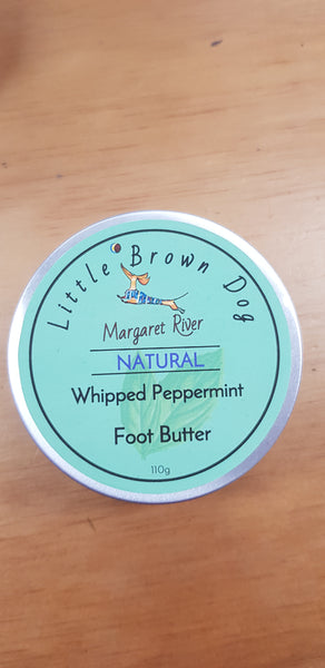 Little Brown Dog Peppermint Foot Butter