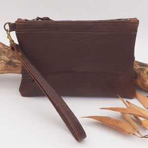 Merino Leather Clutch
