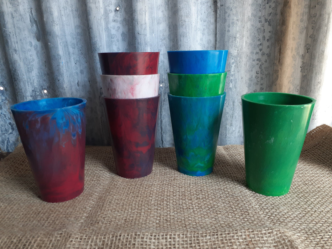 Recycled Plastic Drinking Cups