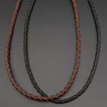 Load image into Gallery viewer, Plaited Leather Necklace