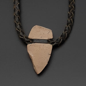 Spearhead Leather Necklace