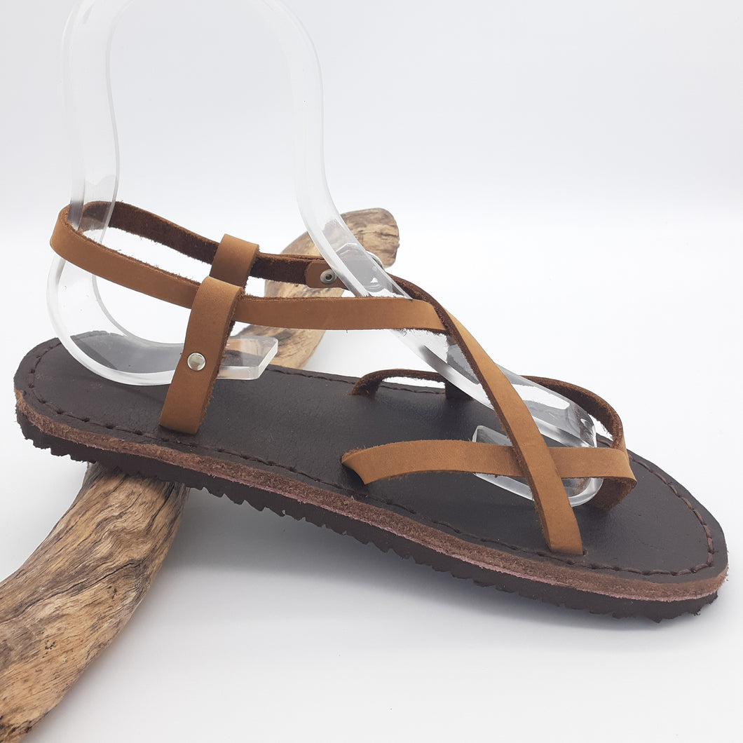 Leather Greek Sandals