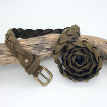 Load image into Gallery viewer, Plaited Leather Belt
