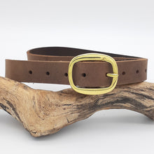 Load image into Gallery viewer, Buffalo Leather Belts Wild West