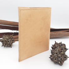Load image into Gallery viewer, Leather Gemstone A5 Journal