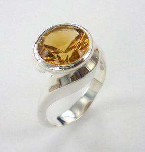 Embrace Ring Citrine Ai146R