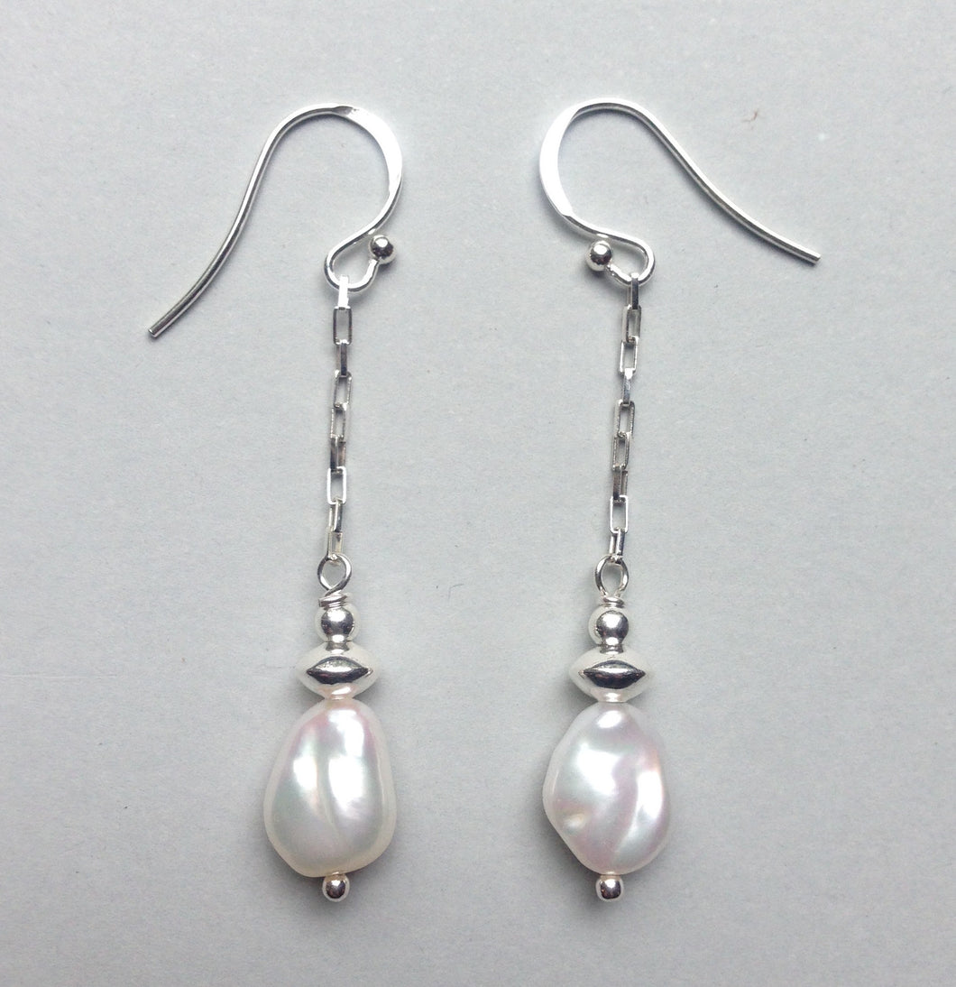 Pearl Dangle Earring Ai197