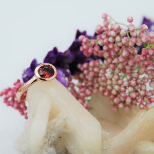 Pink Tourmaline Ring  Ai290T