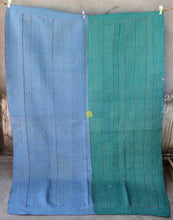 Load image into Gallery viewer, VINTAGE SARI KANTHA THROWS