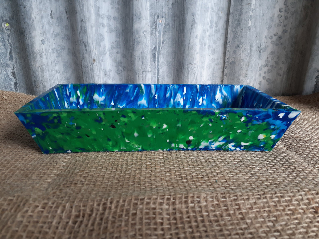 Rectangular Recycled Tapas Bowl