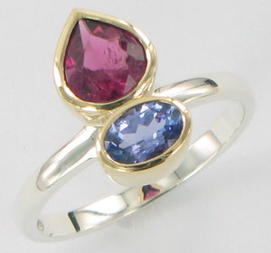 Two Stone Ring Ai151
