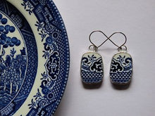 Load image into Gallery viewer, Willow Pattern Jewellery