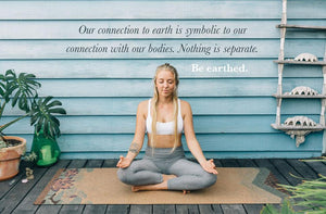 Earthed Cork Yoga Matt