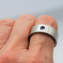 Load image into Gallery viewer, Unisex Sapphire Ring Ai139