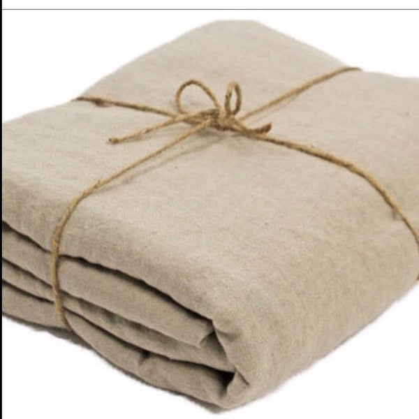 KT French Flax Linen Duvet Set