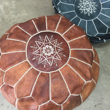 Load image into Gallery viewer, Kenyon Trading Moroccan Pouffe