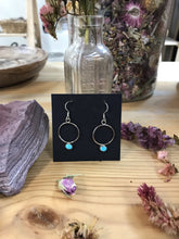 Load image into Gallery viewer, Circle Drop Earrings