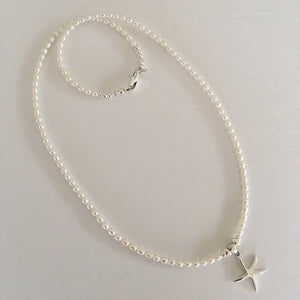 Starfish Necklace Ai10